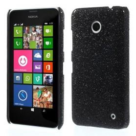 Nokia Lumia 630 mustat glitter kuoret.