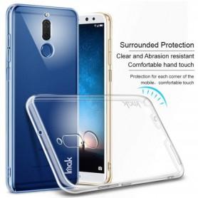 Huawei Mate 10 Lite läpinäkyvä kova suojakuori.