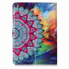 """Apple iPad 9.7"""" värikäs kukka suojakotelo"""