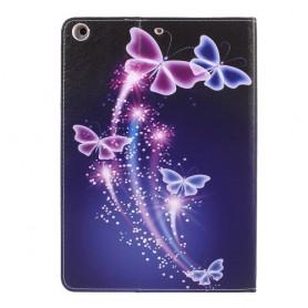 "Apple iPad 9.7"" violetit perhoset suojakotelo"