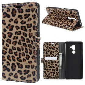 Nokia 7 plus leopardi suojakotelo