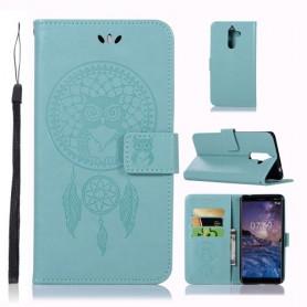 Nokia 7 plus mintun vihreä unisieppari suojakotelo