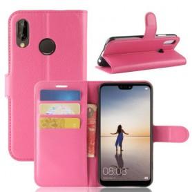 Huawei P20 Lite pinkki suojakotelo