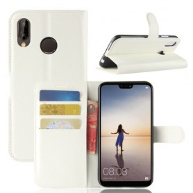 Huawei P20 Lite valkoinen suojakotelo