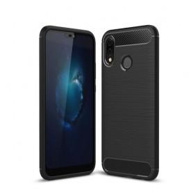 Huawei P20 Lite musta suojakuori