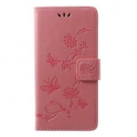 Huawei P20 Lite vaaleanpunainen suojakotelo