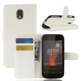 Nokia 1 valkoinen suojakotelo