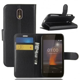 Nokia 1 musta suojakotelo