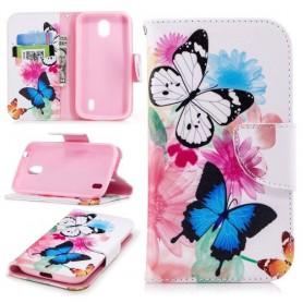 Nokia 1 perhoset suojakotelo