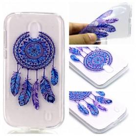 Nokia 1 violetti unisieppari suojakuori.