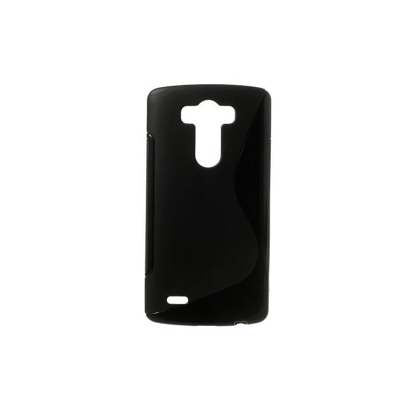 LG G3 musta silikonisuojus.