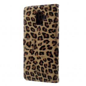 Samsung Galaxy A6 2018 leopardi suojakotelo