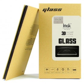 Nokia 8 Sirocco kirkas mustareunuksinen panssarilasi.
