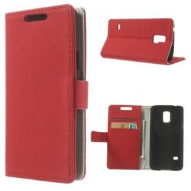 Galaxy S5 mini punainen puhelinlompakko