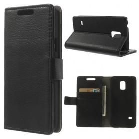 Galaxy S5 mini musta puhelinlompakko