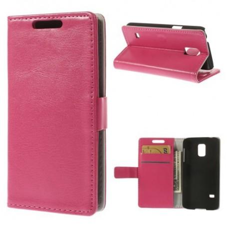 Galaxy S5 mini hot pink puhelinlompakko