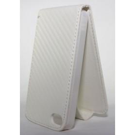 Apple iPhone 4 valkoinen läppäkotelo.