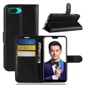 Huawei Honor 10 musta suojakotelo