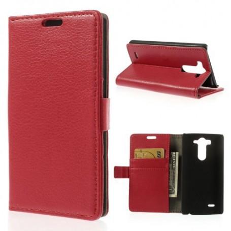 LG G3 punainen puhelinlompakko
