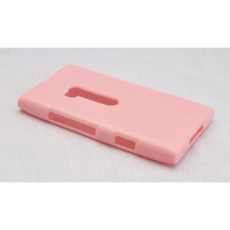 Lumia 900 vaaleanpunainen suojakuori