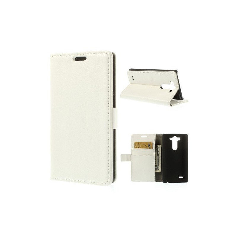 LG G3 valkoinen puhelinlompakko