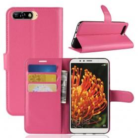 Huawei Y6 2018 pinkki suojakotelo