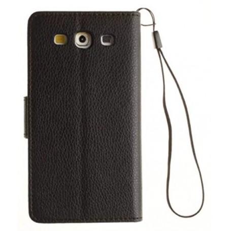 Galaxy S3 musta lompakkokotelo