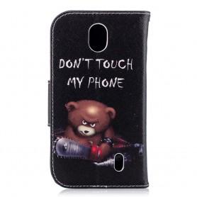 Nokia 1 vihainen nalle suojakotelo