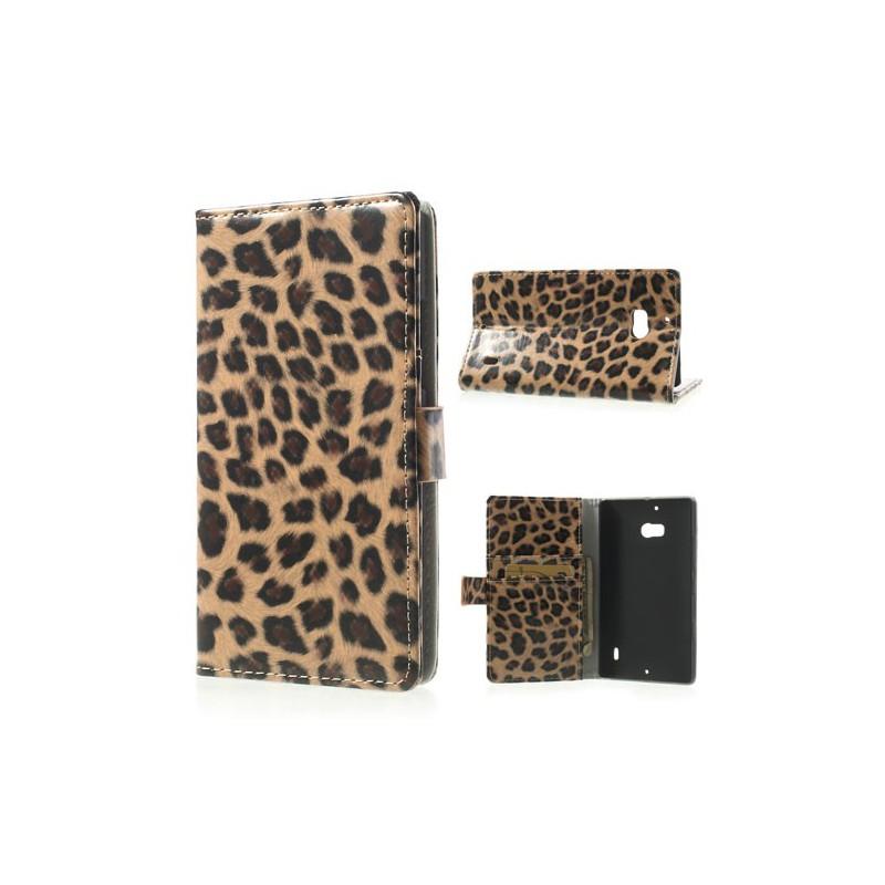 Lumia 930 leopardi puhelinlompakko