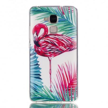 Huawei Honor 7 Lite flamingo suojakuori.