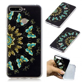 Huawei Y6 2018 perhoset suojakuori.