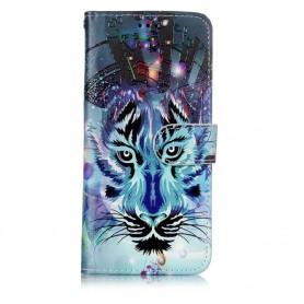 Samsung Galaxy S9 sininen tiikeri suojakotelo