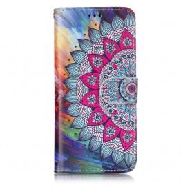 Samsung Galaxy S9 värikäs mandala suojakotelo