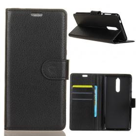 Nokia 5.1 musta suojakotelo