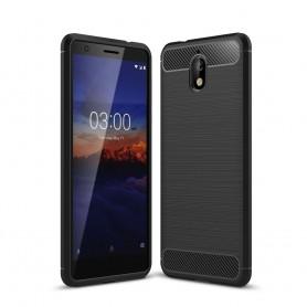 Nokia 3.1 (2018) musta suojakuori