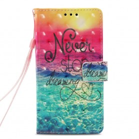 Nokia 7 plus never stop dreaming suojakotelo