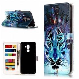 Nokia 7 plus sininen tiikeri suojakotelo