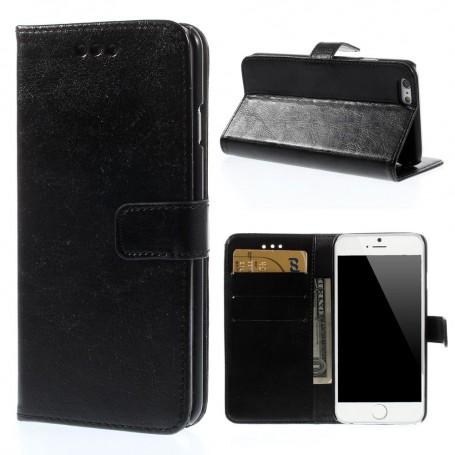 iPhone 6 musta puhelinlompakko