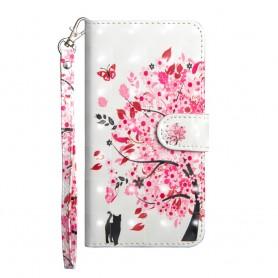 Nokia 7 plus kukkiva puu suojakotelo
