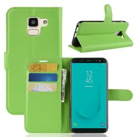 Samsung Galaxy J6 2018 vihreä suojakotelo