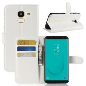 Samsung Galaxy J6 2018 valkoinen suojakotelo