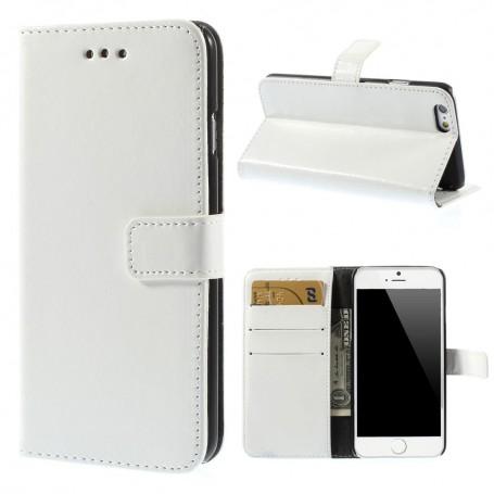 iPhone 6 valkoinen puhelinlompakko
