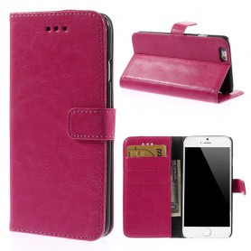 iPhone 6 hot pink puhelinlompakko