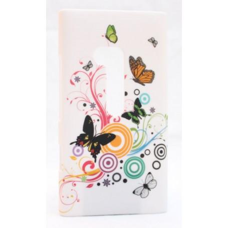 Lumia 900 suojakuori kauniit perhoset.