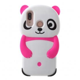 Huawei P20 Lite pinkki panda suojakuori