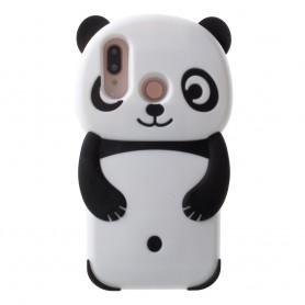 Huawei P20 Lite musta panda suojakuori