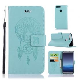 Huawei Honor 9 Lite mintunvihreä unisieppari suojakotelo