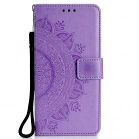 OnePlus 6 violetti mandala suojakotelo