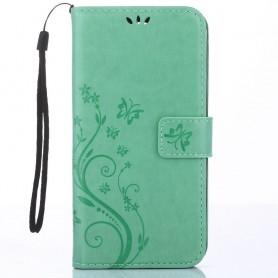 Huawei Y6 2017 vihreä perhoset suojakotelo