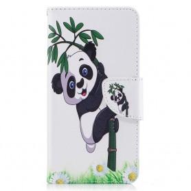 Huawei Y6 2017 kiipeävä panda suojakotelo